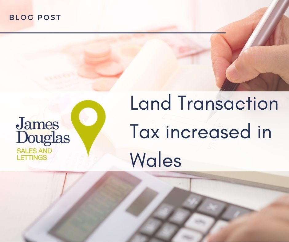 land transaction tax increase for welsh second homes